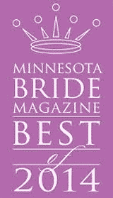 Minnesota Bride Magazine Best of 2014 Finalist